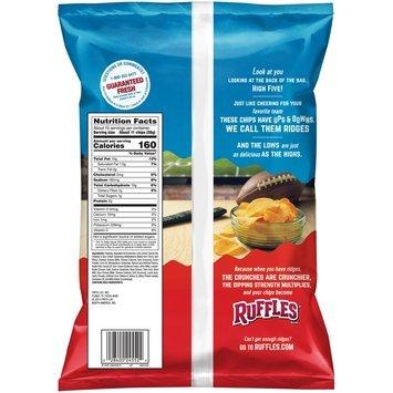 Ruffles Cheddar & Sour Cream Potato Chips 14.625 oz. Bag