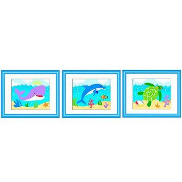 Olive Kids Ocean Framed Art (Set of 3)