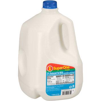 SuperOne Foods 2% Reduced Fat Milk 1 gal. Jug