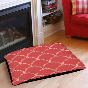 Mercury Row Archey Art Deco Circles Pet Bed Size: 28