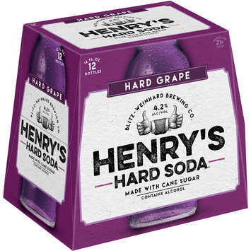 Henry's Hard Soda™ Hard Grape Soda 12-12 fl. oz. Bottles