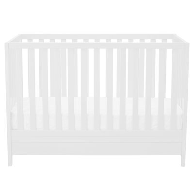 Afg International Mila Convertible Crib Finish: White