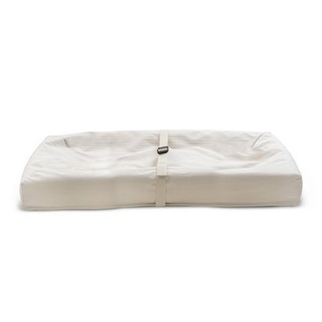 Infant Naturepedic X Rosie Pope Pure & Secure Four-Sided Changing Pad, Size One Size - Beige