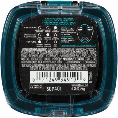 L'Oreal® Paris Infallible Pro-Glow Powder 27 Creme Cafe 0.31 oz. Compact