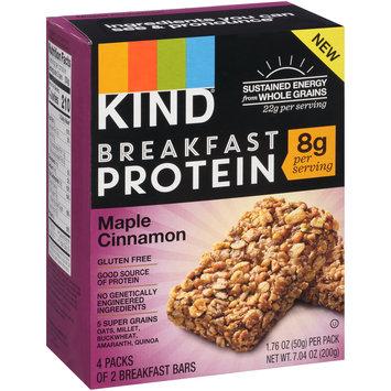 Kind® Breakfast Protein Maple Cinnamon Breakfast Bars 4-1.76 oz. Packs