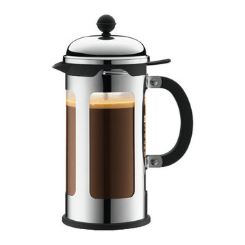 Bodum Chambord 8-Cup French Press Coffeemaker with Spill-Proof Spout