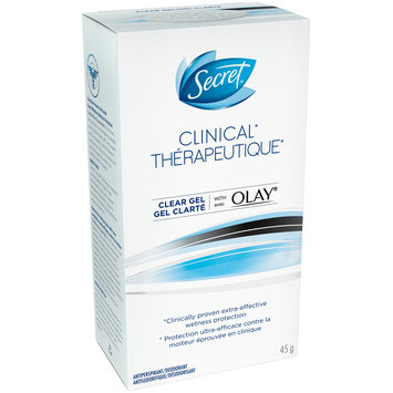 Secret® Clinical with Olay® Clear Gel Antiperspirant/Deodorant 45g Stick