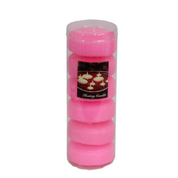 Essential Decor & Beyond Floating Candle Color: Pink