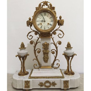 Westmen Lights Porcelain Tabletop Clock