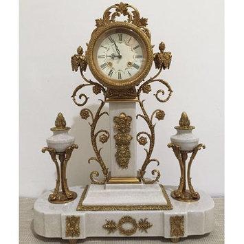 Westmen Lights Porcelain Tabletop Clock