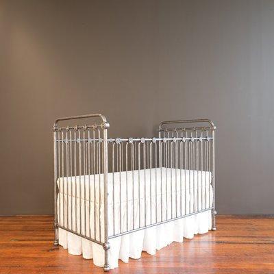 Bratt Decor Joy Baby Crib Finish: Pewter