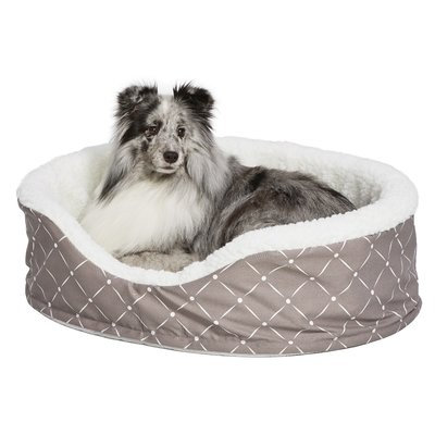 Midwest Homes For Pets Quiet Time Bolster Color: Mushroom, Size: 23