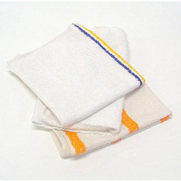 Hospital Specialty 536605DZBX Counter Cloth/Bar Mop Assorted Colors Cotton 12/Bag 5 Bags/Carton