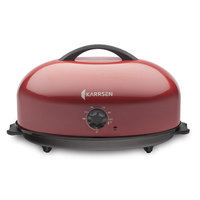 Karrsen Dome Roaster Oven Color: Red
