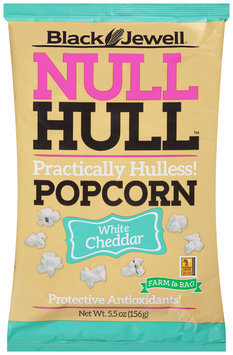 Black Jewell® Null Hull™ White Cheddar Popcorn 5.5 oz. Bag