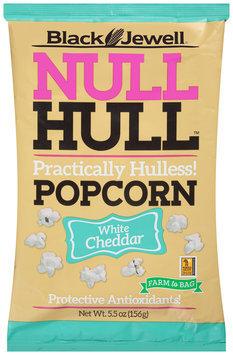 Black Jewell® Null Hull™ White Cheddar Popcorn 5.5 oz. Bag