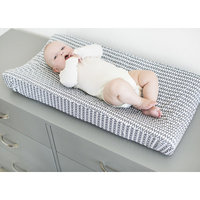 Petunia Pickle Bottom® Southwest Skies Changing Pad Cover in Grey/White
