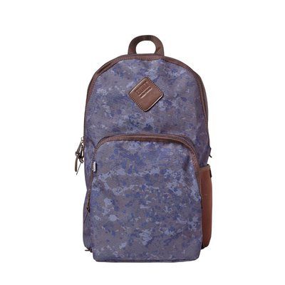 Built Lunch Pack Collection Union Square Backpack Denim Camo, Multi