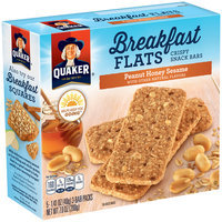 Quaker® Breakfast Flats Peanut Honey Sesame Breakfast Bars