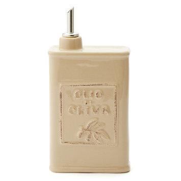 VIETRI Lastra Olive Oil Can - Cappuccino