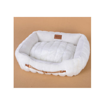 Lindsey Home Fashion Faux Fur Luxury Dog Bed