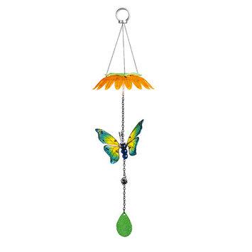 Evergreen Enterprises, Inc Multi Color Butterfly Solar Mobile