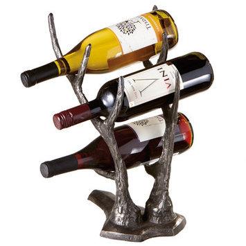 Loon Peak Hilvan 3 Bottle Tabletop Wine Rack