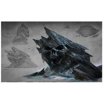 Lord Mischief 'Skull Mountain Cove' Graphic Art
