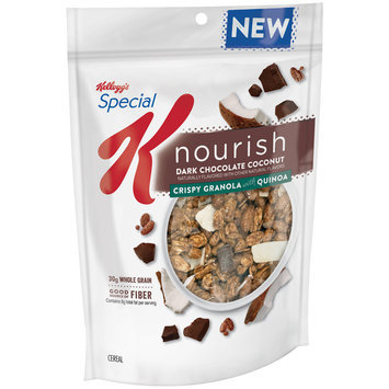 Special K® Kellogg's Nourish® Dark Chocolate Coconut Crispy Granola with Quinoa