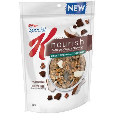 Special K® Kellogg's Nourish® Dark Chocolate Coconut Crispy Granola with Quinoa