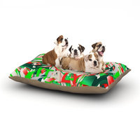 East Urban Home Danny Ivan 'Italy' World Cup Dog Pillow with Fleece Cozy Top Size: Small (40