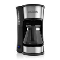 Black & Decker 5-Cup 4-in-1 Station Stainless Steel Coffee Maker