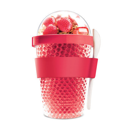 Adnart Chill Yo 2 Go Food Storage Container Color: Red