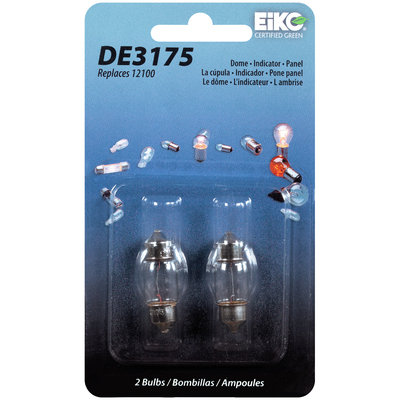 EiKO® DE3175 Auto Replacement Bulbs 2 ct Carded Pack
