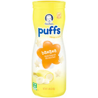 Gerber® Organic Puffs, Banana & Apple Strawberry