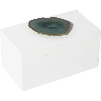 Mapleton Drive Lea Agate Box Size: 2.5