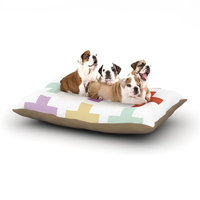 East Urban Home Pellerina Design 'Mint Orchid Plus' Dog Pillow with Fleece Cozy Top Size: Small (40