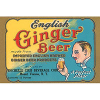 Buyenlarge 'English Ginger Beer' Vintage Advertisement Size: 66