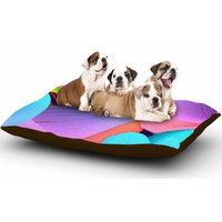 East Urban Home Danny Ivan 'Funny' Dog Pillow with Fleece Cozy Top