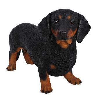 Hi-line Gift Ltd. Standing Daschund Dog Statue