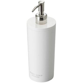 Rebrilliant Canel Body Wash and Soap Dispenser Finish: White