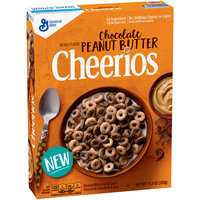 Chocolate Peanut Butter Cheerios™ Cereal 11.3 oz. Box