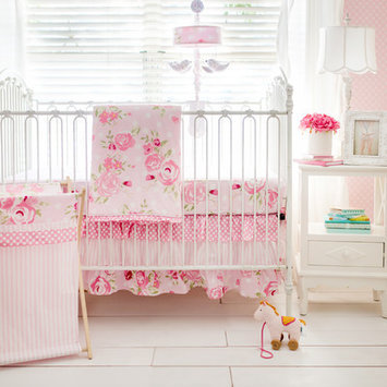 New Arrivals Inc. New Arrivals, Inc. CRIB3-PT Pink Taffy Three-Piece Crib Set