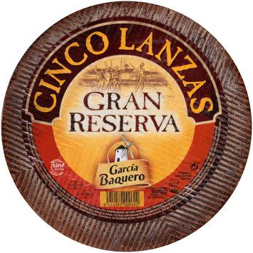 Garcia BaQuero Cinco Lanzas Gran Reserva Cheese Block