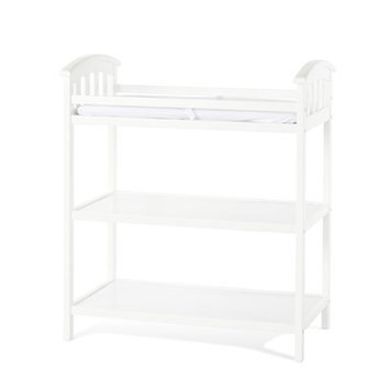 Child Craft Delaney Dressing ChangingTable Finish: Matte White
