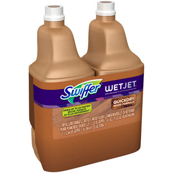 Swiffer® Wet Jet™ Wood Floor Cleaner 2-1.25 L Bottles