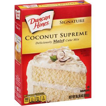 Duncan Hines® Signature Coconut Supreme Cake Mix 15.25 oz. Box