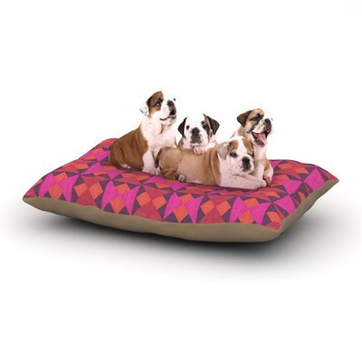 East Urban Home Empire Ruhl 'A Quilt' Dog Pillow with Fleece Cozy Top Size: Small (40