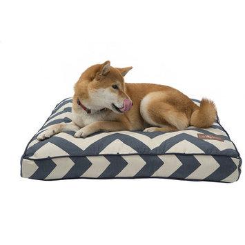 Jax And Bones Jax & Bones Premium Cotton Pillow Dog Bed Spellbound Blue, Size: 25L x 25W in. Square