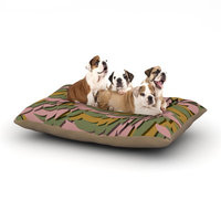 East Urban Home Akwaflorell 'Wings II' Dog Pillow with Fleece Cozy Top Size: Large (50
